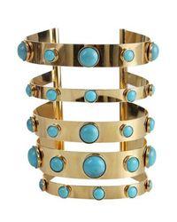 Blumarine | Metallic Blumarine Bracelet | Lyst