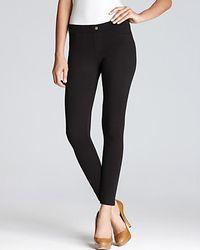 Hue | Black Double Knit Leggings | Lyst