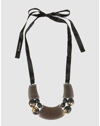 Marni - Black Necklaces - Lyst