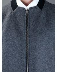 Balenciaga | Gray Square Neck Jacket for Men | Lyst