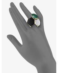 Ippolita - Metallic Semiprecious Multistone 18k Gold Ring - Lyst