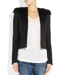 Balmain   White Structured Wool Jacket   Lyst