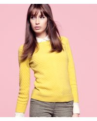 H&M | Yellow Cashmere Jumper | Lyst
