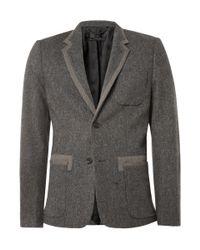 Marc By Marc Jacobs | Gray Yelena Felt Jacket for Men | Lyst