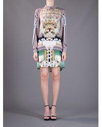 Mary Katrantzou | White Ivory Dress | Lyst