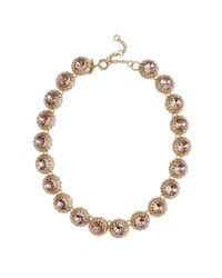 J.Crew | Pink Crystal Cupcake Necklace | Lyst