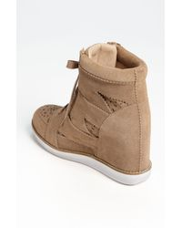 Jeffrey Campbell | Natural Venicehi Wedge Sneaker | Lyst