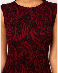 ASOS Green Bodyconscious Dress in Textured Fabric