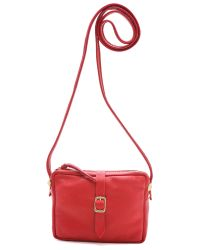 Clare V. | Red Mini Sac | Lyst