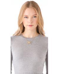 Tom Binns - Metallic Small Spider Pendant Necklace - Lyst