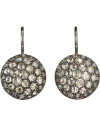 Roberto Marroni | Metallic Rose Cut Diamond Baby Sand Earrings | Lyst