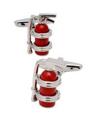 Kenneth Cole Reaction | Metallic Fire Extinguisher Cufflinks for Men | Lyst