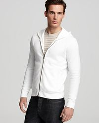 Theory | White Humphreys Hoodie for Men | Lyst