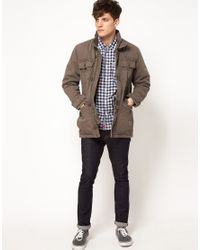 Esprit Brown Jacket with Pockets for men