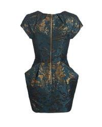 AllSaints | Blue Opulence Dress | Lyst