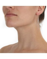 Mizuki - Metallic Icicle Earrings - Lyst