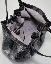 Nancy Gonzalez | Black Python Crocodile Knot Tote | Lyst