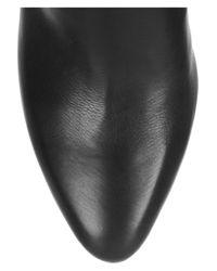 Jimmy Choo   Black Grand Texturedleather Knee Boots   Lyst