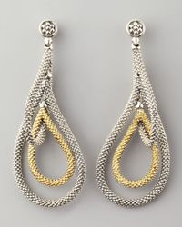 Lagos | Metallic Soiree Teardrop Earrings | Lyst