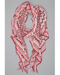 Missoni | Red Scarf | Lyst