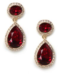 BaubleBar - Red Queen Ruby Earrings - Lyst