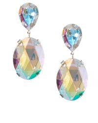 ASOS | Multicolor Gem Drop Earrings | Lyst