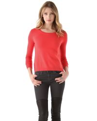 J Brand - Red Astrid Cashmere Sweater - Lyst