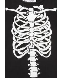 TOPSHOP | Black Skeleton Tee By Tee and Cake | Lyst