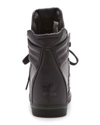Opening Ceremony Black Bmx Wedge Sneakers