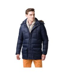Tommy Hilfiger - Blue Hudson Down Jacket for Men - Lyst