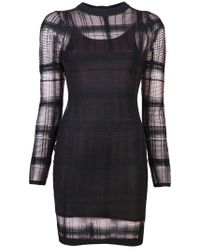 Alexander Wang | Black Trump Loeil Dress | Lyst