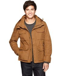 Gap | Brown Fourpocket Quilt Lining Jacket for Men | Lyst