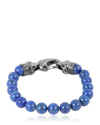 Stephen Webster | Blue Raven Head Lapis for Men | Lyst