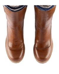 H&M - Brown Lined Chelsea Boots - Lyst