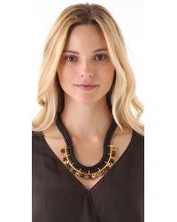 Lizzie Fortunato - Black The Paris Confidential Necklace - Lyst