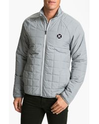 Hurley | Gray Outer Edge Jacket for Men | Lyst