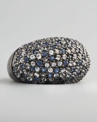 M.c.l  Matthew Campbell Laurenza | Multicolor Stardust Pave Sapphire Ring Ice | Lyst