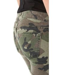 Textile Elizabeth and James | Green Cooper Camo Jeans | Lyst