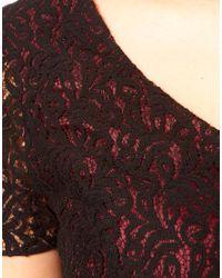 ASOS Black Lace Dress with Tutu Skirt