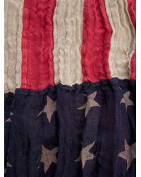 Ralph Lauren | Red Stars Stripes Scarf | Lyst