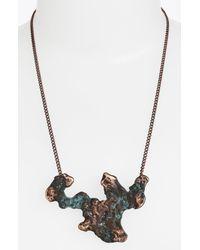 Low Luv by Erin Wasson | Metallic Salt Lake Pendant Necklace | Lyst
