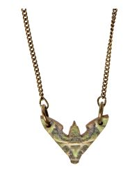 Tatty Devine | Brown Tatty Devine Hawk Moth Mini Necklace | Lyst