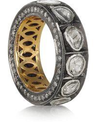 Artisan - Metallic 14karat Gold Diamond Ring - Lyst
