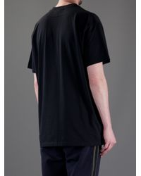 Givenchy | Black Printed T-Shirt for Men | Lyst