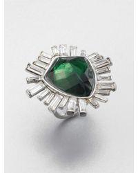 Alexis Bittar | Green Tourmaline Starburst Ring | Lyst