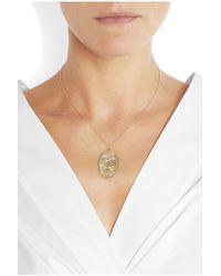 Brooke Gregson | Metallic Virgo 14-karat Gold Diamond Necklace | Lyst