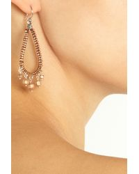 Chan Luu - Pink 14karat Rose Gold Vermeil and Sterling Silver Earrings - Lyst