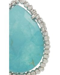 Chan Luu - Metallic Silver and Turquoise Earrings - Lyst