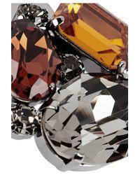 Dolce & Gabbana | Silver Swarovski Crystal Hair Clip | Lyst