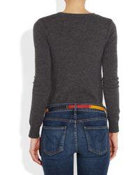 Levi's | Multicolor Colorblocked Leather Skinny Belt | Lyst